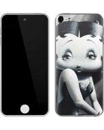 Betty Boop Black and White Apple iPod Skin