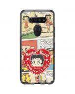 Betty Boop Comic Strip LG K51/Q51 Clear Case
