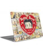 Betty Boop Comic Strip Apple MacBook Air Skin