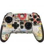 Betty Boop Comic Strip PlayStation Scuf Vantage 2 Controller Skin
