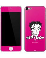 Betty Boop Pink Background Apple iPod Skin