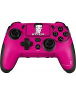 Betty Boop Pink Background PlayStation Scuf Vantage 2 Controller Skin