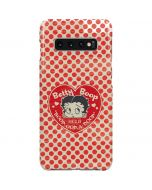 Betty Boop Red Heart Galaxy S10 Plus Lite Case