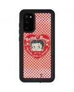 Betty Boop Red Heart Galaxy S20 Waterproof Case