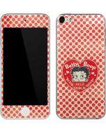 Betty Boop Red Heart Apple iPod Skin
