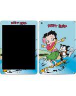 Betty Boop Surfing Apple iPad Skin