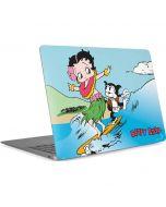 Betty Boop Surfing Apple MacBook Air Skin