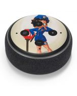 Betty Boop the Police Officer Amazon Echo Dot Skin