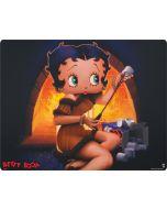 Betty Boop roasting marshmallows Apple iPad Skin