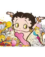Betty Boop Hands Up Dell XPS Skin