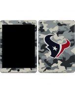 Houston Texans Camo Apple iPad Air Skin