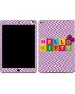 Hello Kitty Logo Apple iPad Air Skin