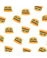 Cute Burgers LifeProof Nuud iPhone Skin