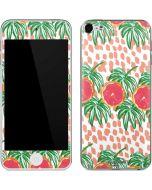 Graphic Grapefruit Apple iPod Skin