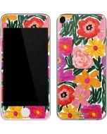Painterly Garden Apple iPod Skin