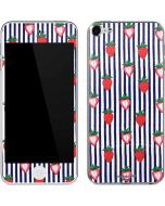 Strawberries and Stripes Apple iPod Skin