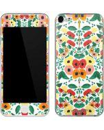 Geometric Flowers Apple iPod Skin