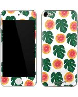 Tropical Leaves and Citrus Apple iPod Skin