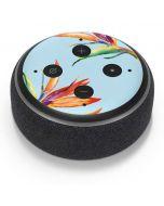Birds of Paradise Summer Amazon Echo Dot Skin