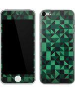 Black & Green Apple iPod Skin