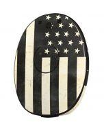 Black & White USA Flag MED-EL Rondo 2 Skin