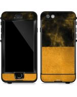 Black and Gold Split Marble LifeProof Nuud iPhone Skin