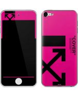 Black and Pink Arrows Apple iPod Skin