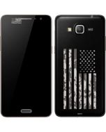 Black and White Camo American Flag Galaxy Grand Prime Skin