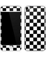 Black and White Checkered Apple iPod Skin