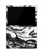 Black and White Marble Ink Surface Pro 7 Skin