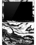 Black and White Marble Ink Surface Pro (2017) Skin
