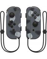 Black and White Pineapples Nintendo Joy-Con (L/R) Controller Skin