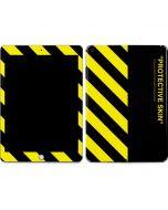 Black and Yellow Stripes Apple iPad Skin