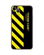 Black and Yellow Stripes iPhone 11 Pro Max Skin
