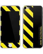 Black and Yellow Stripes Apple iPod Skin
