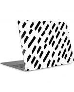Black Dash Apple MacBook Air Skin
