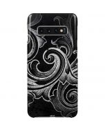 Black Flourish Galaxy S10 Plus Lite Case