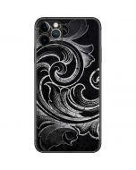 Black Flourish iPhone 11 Pro Max Skin