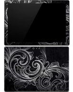 Black Flourish Surface Pro (2017) Skin