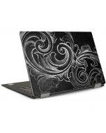 Black Flourish Dell XPS Skin