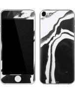 Black Marble Ink Apple iPod Skin