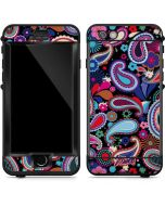 Black Paisley LifeProof Nuud iPhone Skin