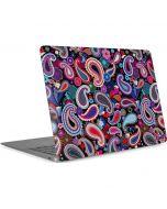 Black Paisley Apple MacBook Air Skin