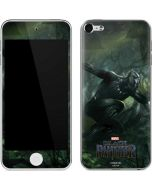 Black Panther In Action Apple iPod Skin