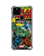 Black Panther Jungle Action Google Pixel 5 Clear Case
