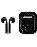 Black Speckle Apple AirPods Skin