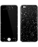 Black Speckle Apple iPod Skin