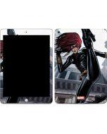 Black Widow High Kick Apple iPad Skin