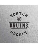 Boston Bruins Black Text Apple AirPods Skin