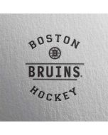 Boston Bruins Black Text Dell XPS Skin